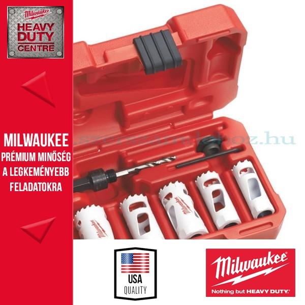 Milwaukee 7 db-os lyukfűrész készlet