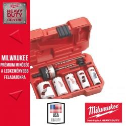 Milwaukee 10 db-os lyukfűrész készlet