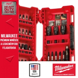 Milwaukee 33 db-os SHOCKWAVE bit és dugókulcs szett