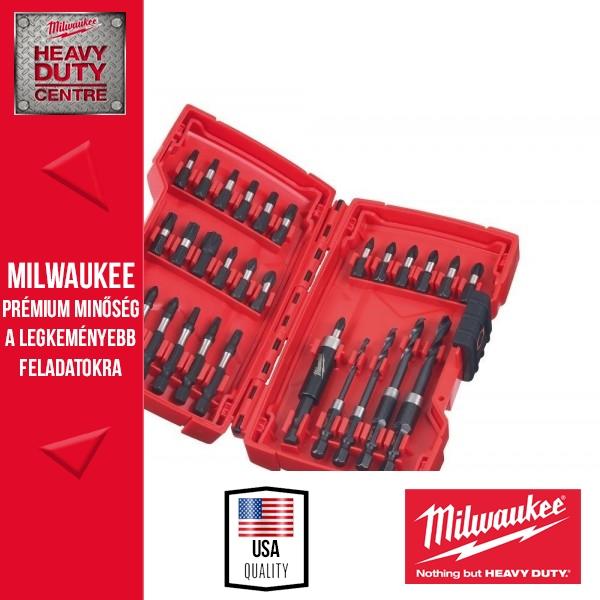 Milwaukee 30 db-os SHOCKWAVE fúró-csavarozó bit készlet