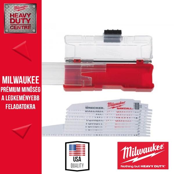 Milwaukee SAWZALL 10 db-os univerzális fűrészlap szett