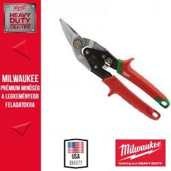 Milwaukee Jobbos áttételes lemezvágó olló