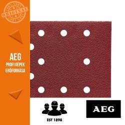 AEG Abrazív csiszolópapír -szorítóval rögzíthető 10 db