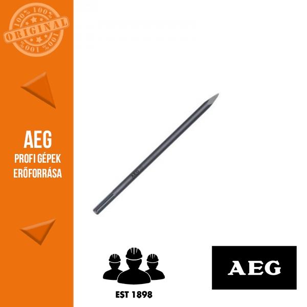 AEG SDS-Max Hegyes véső 400 mm