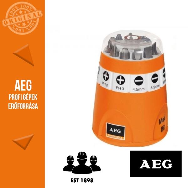 AEG Maxi csavarozó bit készlet 25 mm 10 db
