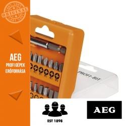 AEG Profi csavarozó bit készlet 17 db