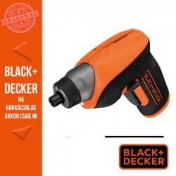 BLACK & DECKER CS3652LC-QW  3,6V Li-Ion Marokcsavarozó jobbos sarokcsavarozó feltéttel