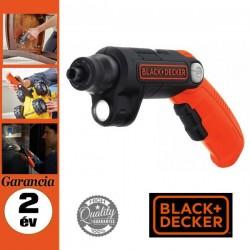 BLACK & DECKER BDCSFL20C-QW Akkus csavarozó beépített lámpával, 3,6 V/ 1,5 Ah