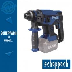 Scheppach BCRH170 20 ProS Akkus szénkefe nélküli fúró/vésőkalapács SDS Plus, 20 V (akku és töltő nélkül)