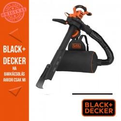 BLACK & DECKER 3in1 változtatható sebességű avartakarító innovatív levélgyűjtő hátizsákkal, 3000W