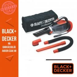 BLACK & DECKER 12V Autóporszívó, 12,5W