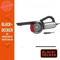 BLACK & DECKER 12V elfordítható szívócsöves autóporszívó