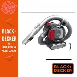 BLACK & DECKER 12V autóporszívó, 2 in 1 résszívó feltét puha kefével, 12,5 W