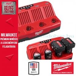 Milwaukee M12 C4 4 soros akkumulátor  gyorstöltő