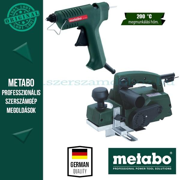 Metabo HO 0882 Gyalugép + KE 3000 Ragasztópisztoly