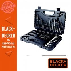 BLACK & DECKER 80 darabos Fúró & Csavarozókészlet: