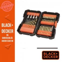 BLACK & DECKER 41 darabos titánium fúró csavarozó készlet