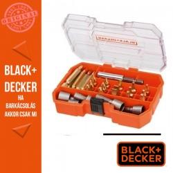 BLACK & DECKER 32 darabos csavarozó készlet