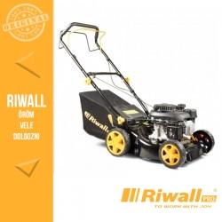 Riwall RPM 4234 Önjáró benzinmotoros multifunkciós fűnyíró 2 az 1-ben