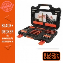 BLACK & DECKER 104 darabos vegyes titánium készlet