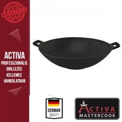 ACTIVA Activa öntvény wok serpenyő, 30 cm