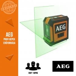AEG CLG220-K Zöld Keresztvonalas Lézer szett