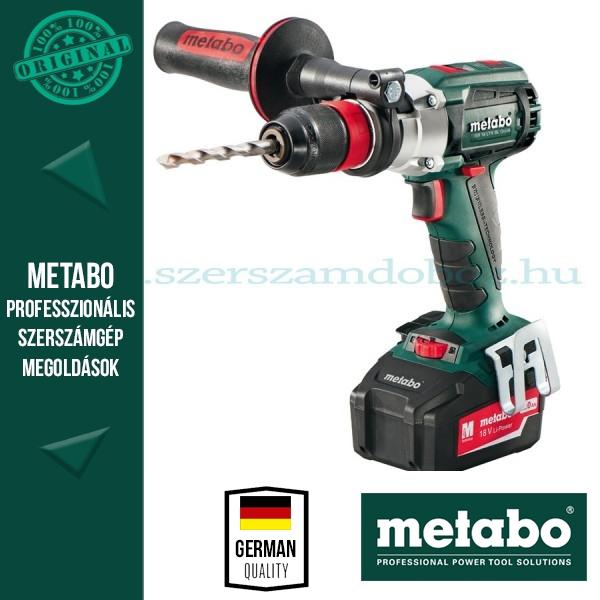 Metabo SB 18 LTX Quick Ütvefúró-csavarbehajtó Alapgép