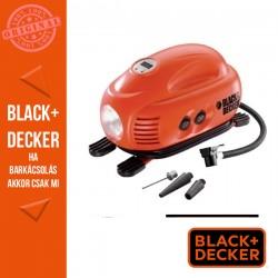 BLACK & DECKER Légpumpa, szivargyújtó töltőről üzemeltethető, 8,3 Bar/120 PSI