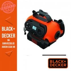 BLACK & DECKER 18V Légpumpa akku és töltő nélkül, Digitális kijelző automatikus