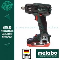Metabo SSW 18 LTX BL 400 Akkus ütve-csavarbehajtó