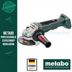 Metabo WPB 18 LTX BL 125 Quick Akkus sarokcsiszoló Alapgép