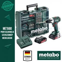 Metabo BS 18 LT Akkus fúró-csavarbehajtó készlet mobil műhely