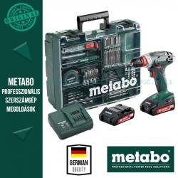Metabo BS 18 Quick Akkus fúró-csavarbehajtó készlet mobil műhely