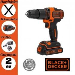 BLACK & DECKER BDCHD18-QW 18V Akkus ütvefúró/csavarozó, 2 mechanikus sebességfokozattal