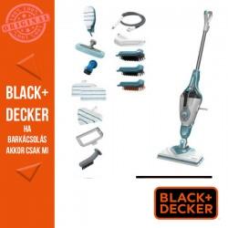 BLACK & DECKER 1600 W gőzmop gőztisztító kesztyúvel, 13 tartozékkal