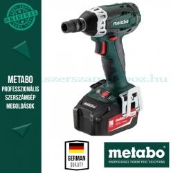 Metabo SSW 18 LTX 200 Akkus ütve-csavarbehajtó + dugókulcs készlet