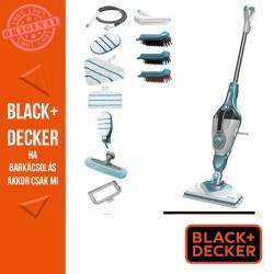 BLACK & DECKER 1600 W gőzmop gőztisztító kesztyúvel, 10 tartozékkal