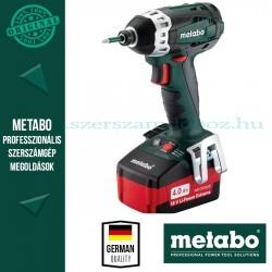 Metabo SSD 18 LTX 200 Akkus ütve-csavarbehajtó + dugókulcs készlet