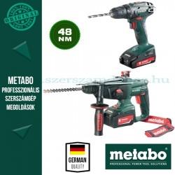 Metabo Combo Set 2.3.2 (BS 18 Fúró-csavarozó + KHA 18 LTX Kombikalapács)