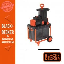 """BLACK & DECKER 2500W """"csendes"""" komposztaprító"""