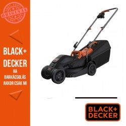 BLACK & DECKER Fűnyíró 1000W 32 cm, standard fogantyú