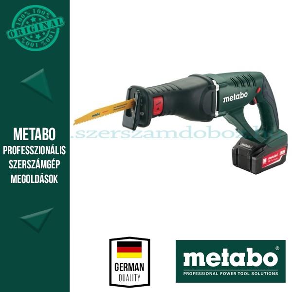 Metabo ASE 18 LTX Akkus kardfűrész