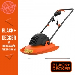 BLACK & DECKER 1200W/30 cm légpárnás fűnyíró