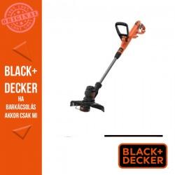 BLACK & DECKER Fűszegélyvágó 550W 30 cm, Powercommand-Gombnyomásos száladagolás