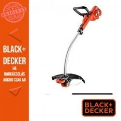 BLACK & DECKER Fűszegélyvágó 900W, 33 cm, automatikus száladagolás, teleszkópos nyél