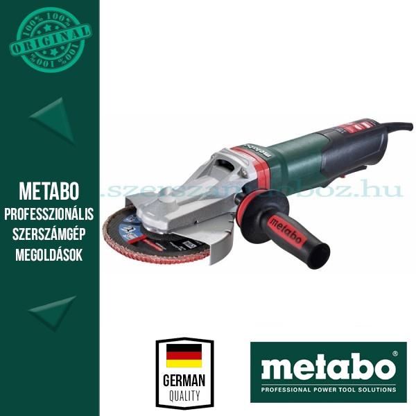 Metabo WEPBF 15-150 Quick Laposfejű sarokcsiszoló