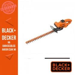 BLACK & DECKER Sövényvágó 500 W, 50 cm, 22mm fogköz, aszimmetrikus kések
