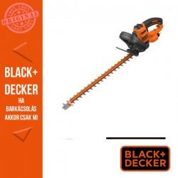 BLACK & DECKER Sövényvágó 650 W, 60 cm, 25mm fogköz, beépített fűrész