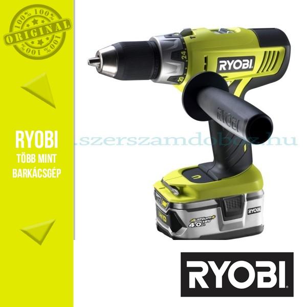 Ryobi LCDI1802M Kétsebességes ütvefúró-csavarozó 2x 4,0Ah akku
