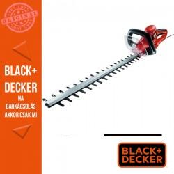 BLACK & DECKER Sövényvágó 700 W, 70 cm, 30mm fogköz, beépített fűrész